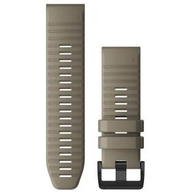 Garmin QuickFit Silikon Uhrenband 26mm für Fenix 6X grau